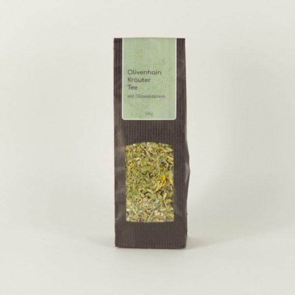 Olivenhain-Kräuter-Tee-mit-Olivenblättern